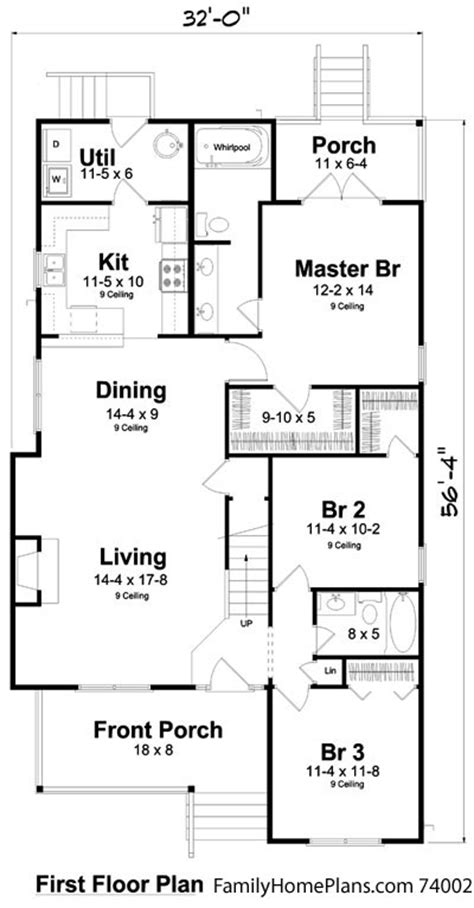 Bungalow Floor Plans | Bungalow Style Homes | Arts and