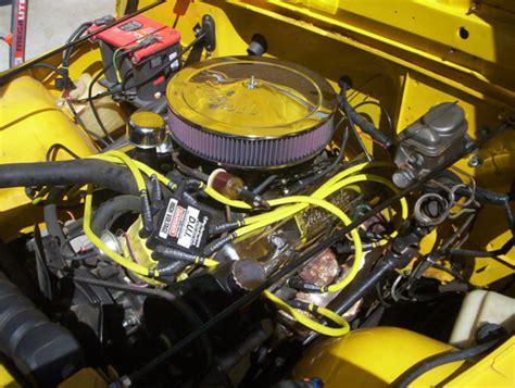 Cj7 Jeep 350 Chevy Wiring by 1984 Jeep Cj7 Custom Amc 360 V8 Motor 727 Automatic Trans