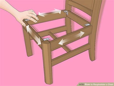 refaire une chaise the best way to reupholster a chair wikihow