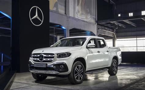 2018 Mercedesbenz Xclass Pickup Truck World Debut