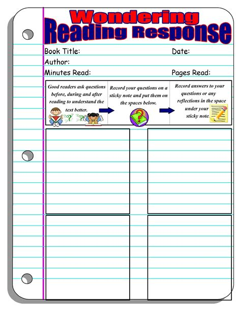 grade graphic organizers for reading comprehension