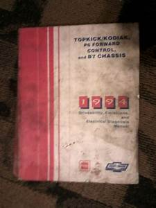 Buy 1994 Chevy Gmc Topkick Kodiak Truck Bus Factory