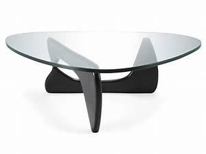 Table Basse Noire Design : table basse noguchi noir ~ Carolinahurricanesstore.com Idées de Décoration