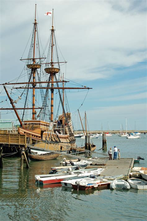 mayflower ii photo    pilgrims ship