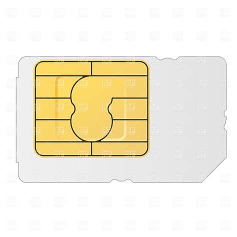 sim card vector image vector artwork  technology