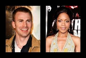 Chris Evans was rumored to be with Naomie Harris - Chris ...