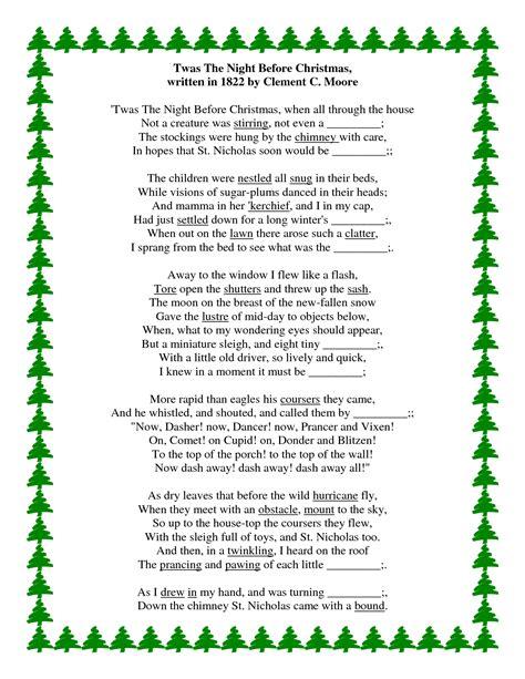 twas  night  christmas christian poem festival