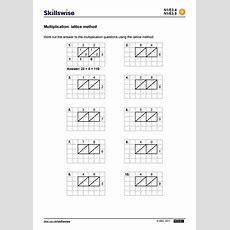 Multiplication Lattice Method