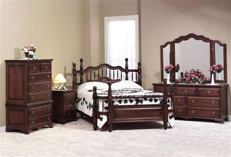 amish wrap  bedroom furniture set