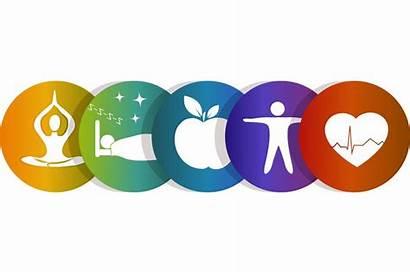 Clipart Wellness Compass Health Healthy Symbols Benefits