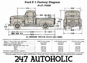 Ford F1 Pickup 1948 Plans