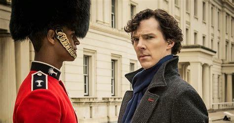 sherlock season bbc sign three episode holmes guardsman cumberbatch benedict enoch alfie bainbridge watson john recap bloody promo pooh winnie