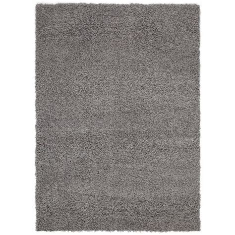 grey rug 5x7 sweet home stores cozy shag collection grey 5 ft x 7 ft