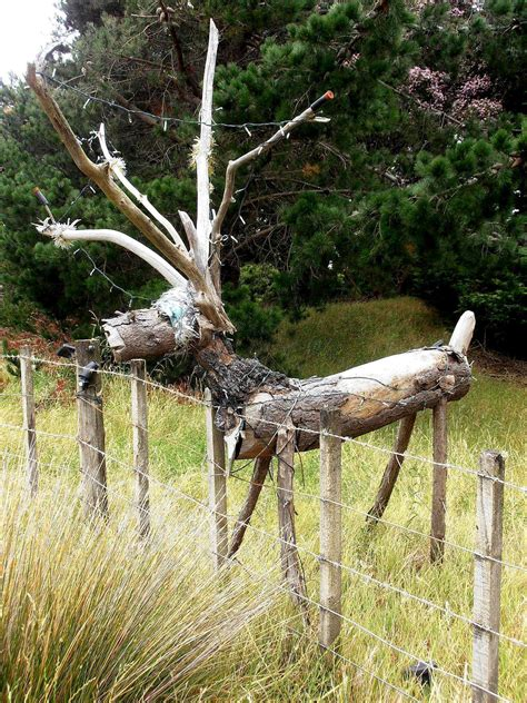 inspirational wooden reindeer yard decorations
