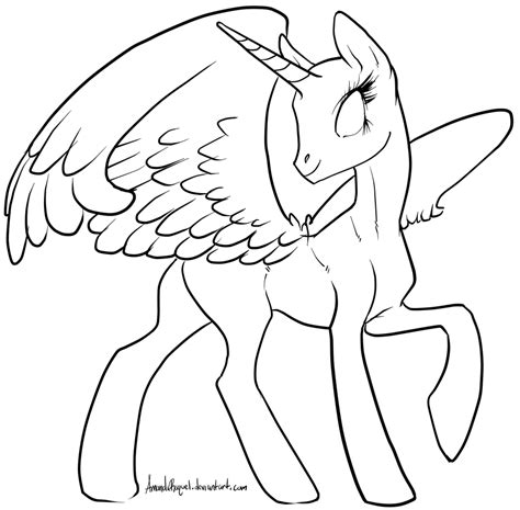 pony coloring pages alicorn google search