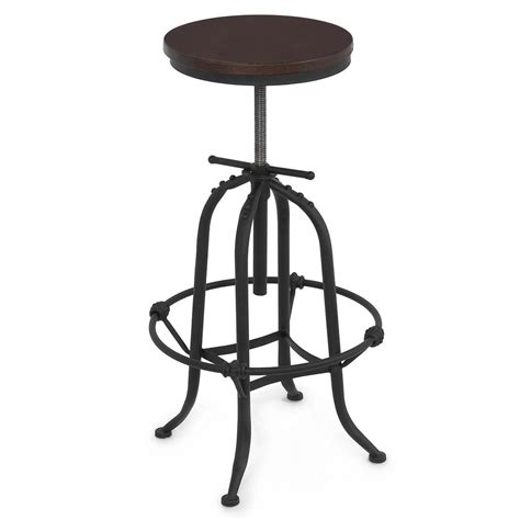 countertop stools rustic bar stool home adjustable seat height countertop