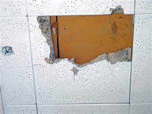 Do All Acoustic Ceiling Tiles Asbestos by Asbestos Ceiling Tiles How To Identify Home Design Ideas