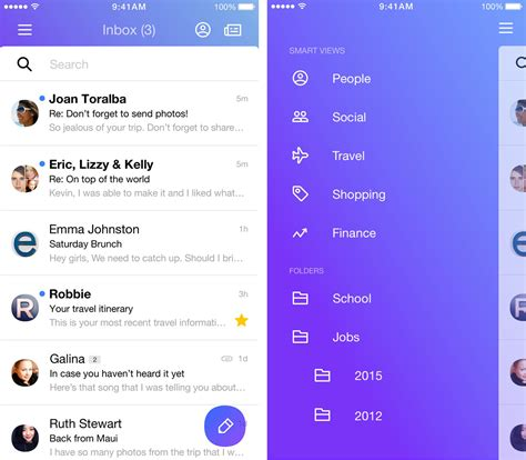 yahoo mail app for android yahoo reveals reved mail app with new interface