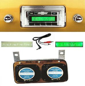 1947 1953 chevy truck radio w dash speaker aux cable included stereo 230 ebay