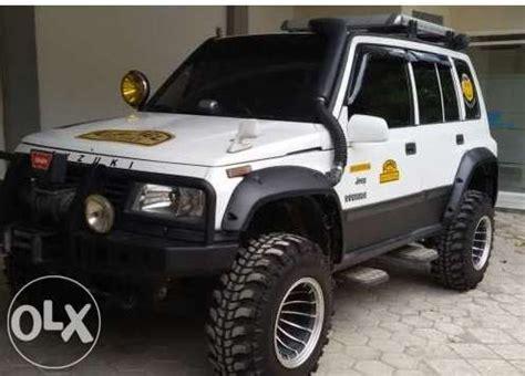 mobil jeep offroad suzuki vitara 4 4 92 93 modif off road klaten mobil