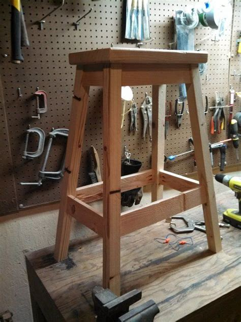 Workbench Stool Plans Shop Stools Stools And Woodworking On