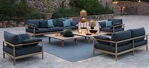 Mobilier D Extérieur : dedon mobilier de jardin meubles d ext rieur haut de gamme saisons ~ Teatrodelosmanantiales.com Idées de Décoration