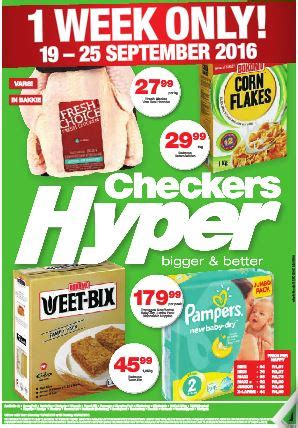 gauteng checkers hyper promotions  sep   sep