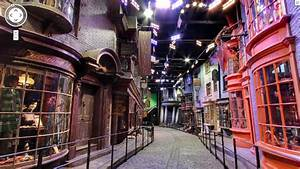 World of Harry Potter in Google Street View
