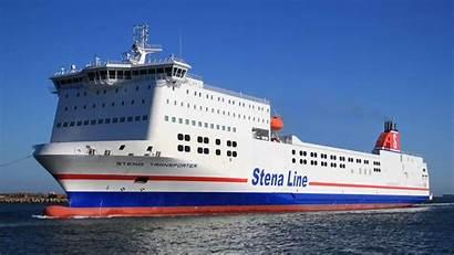 Stena Line Transporter Transit Ferry Project Ship