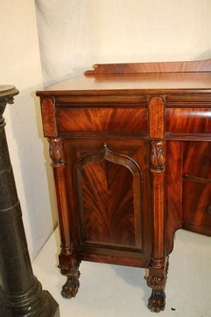 Second Sideboard by Charming Second Empire Berkey Crotch Mahogany