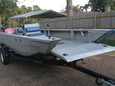 Aluminum Boats For Sale Louisiana Sportsman 2002 scorpion aluminum jet boat boats other for sale in