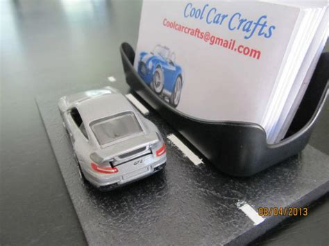 Find Porsche 911 Gt2 Diecast Car Business Card Holder
