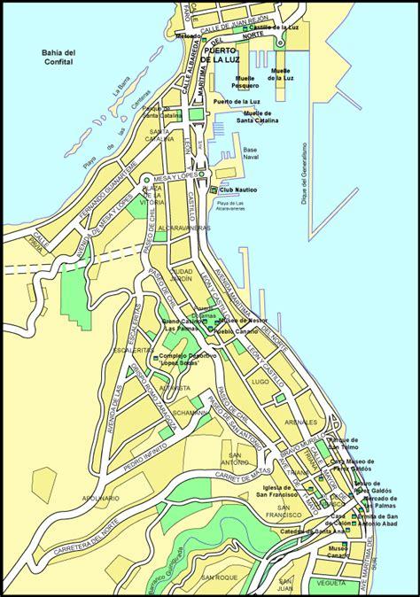 las palmas map