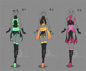 More Glowing Dresses - sold by Nahemii-san on DeviantArt