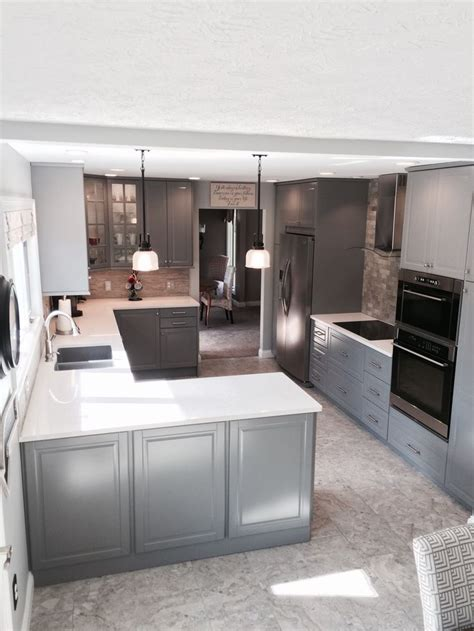 ikea grey kitchen cabinets ikea bodbyn gray kitchen ikea kitchens