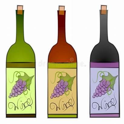 Wine Clip Bottles Bottle Clipart Illustration Labels