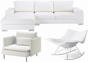 Canapé Ikea Pas Cher : canape cuir blanc ikea maison design ~ Teatrodelosmanantiales.com Idées de Décoration