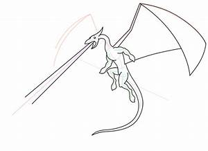 How To Draw Flying Dragons | www.pixshark.com - Images ...