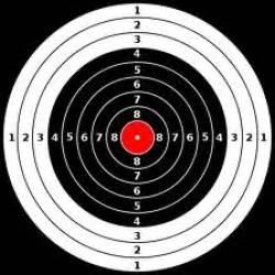 printable animal archery targets images