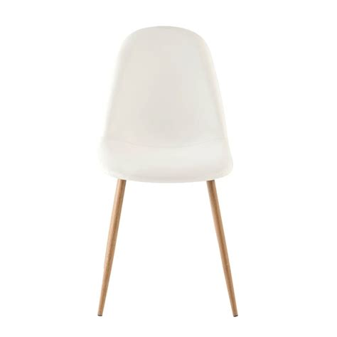 chaise style scandinave blanche clyde maisons du monde