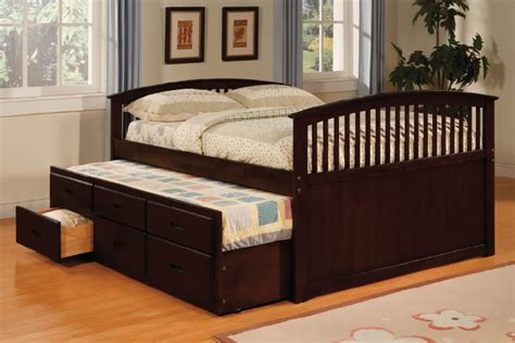 Full size trundle bed  a thing to consider  Home Design