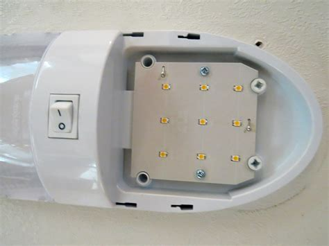 optronics led rv interior light with switch 18 diode