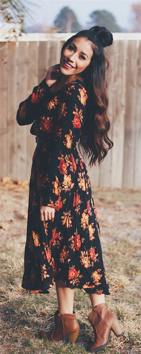 20 Outfit Ideas to Make a Pretty Look for Fall - Pretty Designs