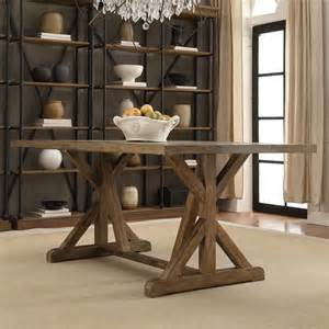 tribecca home benchwright rustic pine trestle reinforced