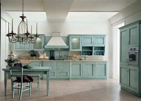 teal kitchen cabinets   paint  homesfeed
