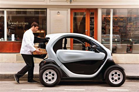 Renault announces Twizy Cargo electric delivery vehicle at ...