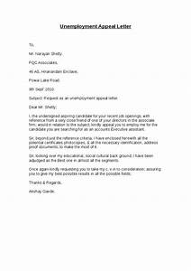 Unemployment Appeal Letter  Hashdoc