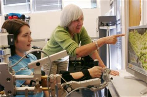 Help Desk Tamu Physics by Physical Therapists Test Mechanical Arm To Help Patients