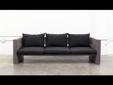 Wooden Simple Sofa by How To Make Wooden Sofa Cheap And Easy