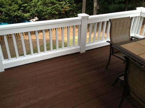 2 Tone Deck Staining Ideas